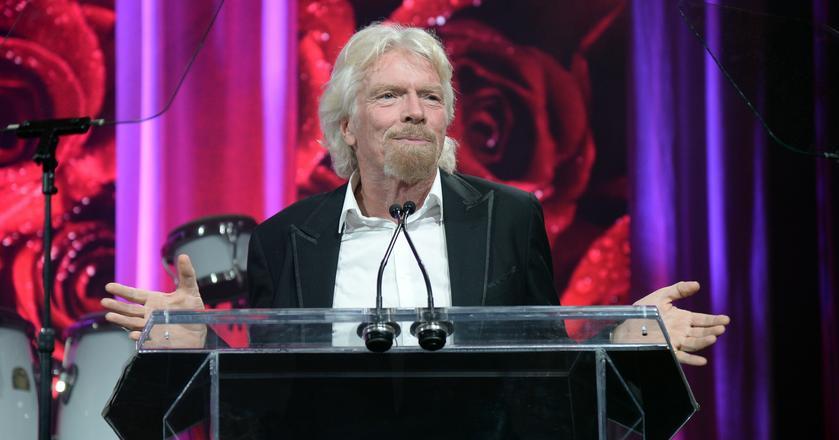 Richard Branson podkreśla, że choćby jego grafik był wypchany po brzegi, zawsze znajduje czas na czytanie