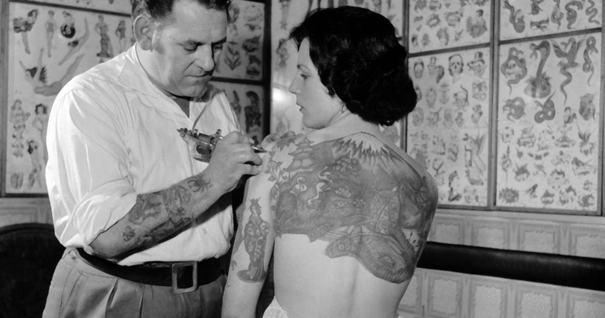 Tatuaże Na Starych Zdjęciach Zobacz Czarno Białe Ujęcia Noizz