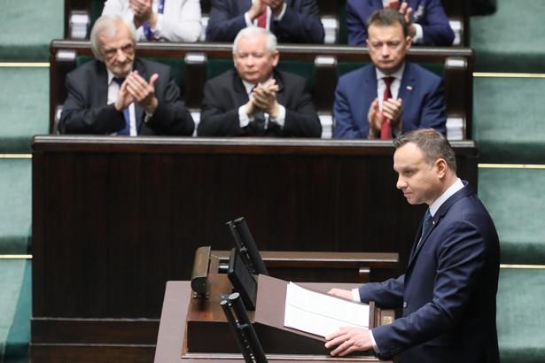 Andrzej Duda przed Zgromadzeniem Narodowym