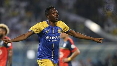 Super Eagles star Ahmed Musa wins the league title with his club in Saudi Arabia