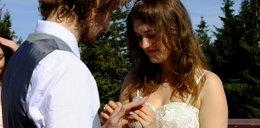 Młoda para pobrała się na Skrzycznem