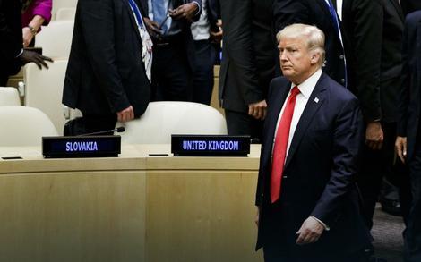Američki predsednik Donald Tramp