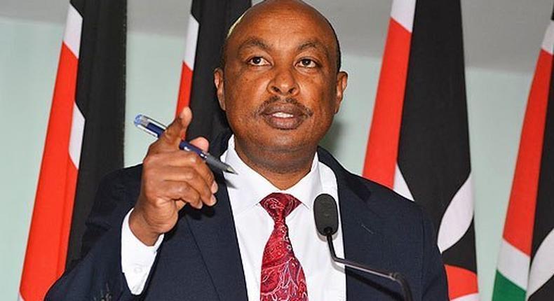 Eric Kirathe removed as gov't spokesman; Colonel Cyrus Oguna to take over