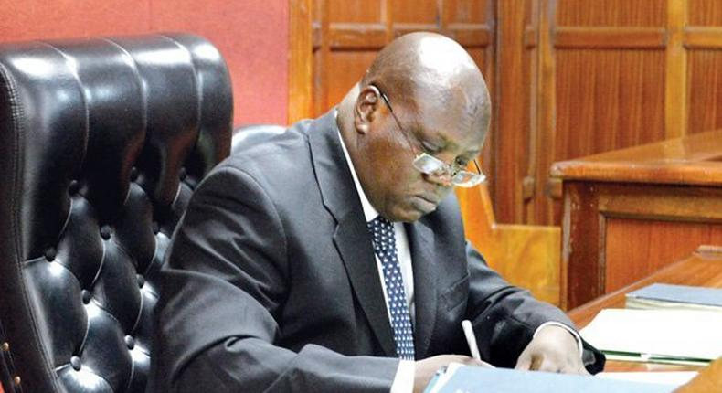 Chief Magistrate Francis Andayi. Billy Graham, student who shouted during hearing of Babu Owino case released