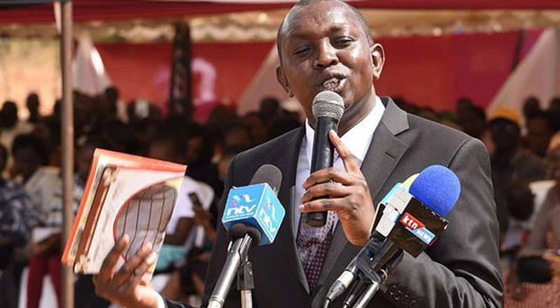 I blame Ruto for convincing us Uhuru was his true friend – Oscar Sudi