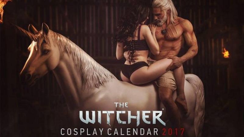 Witcher Cosplay Calendar 2017