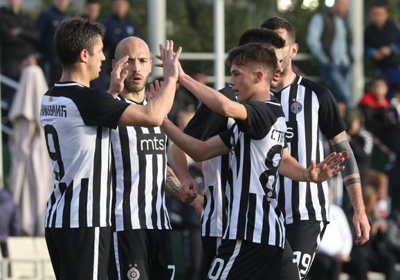 Partizan je pobedio Šahtjor sa 2:0