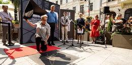 Kinga Dębska odsłoniła swoją gwiazdę na Piotrkowskiej