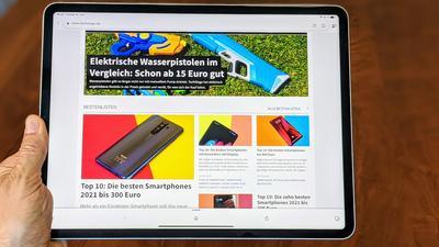 iPad Pro 2021 mit M1-Chip im Test: Apple zündet den Tablet-Turbo