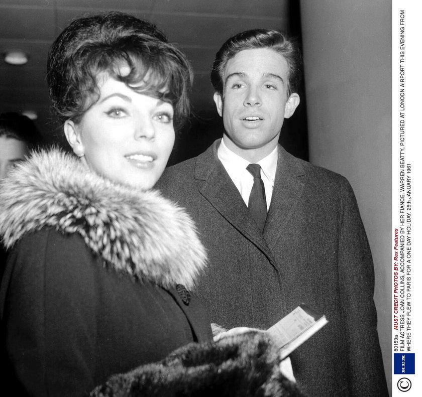 Joan Collins w poprzednim związku