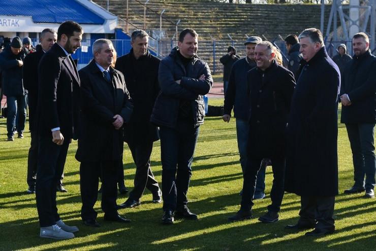 Igor Mirović, Vanja Udovičić, Gradski stadion, Subotica