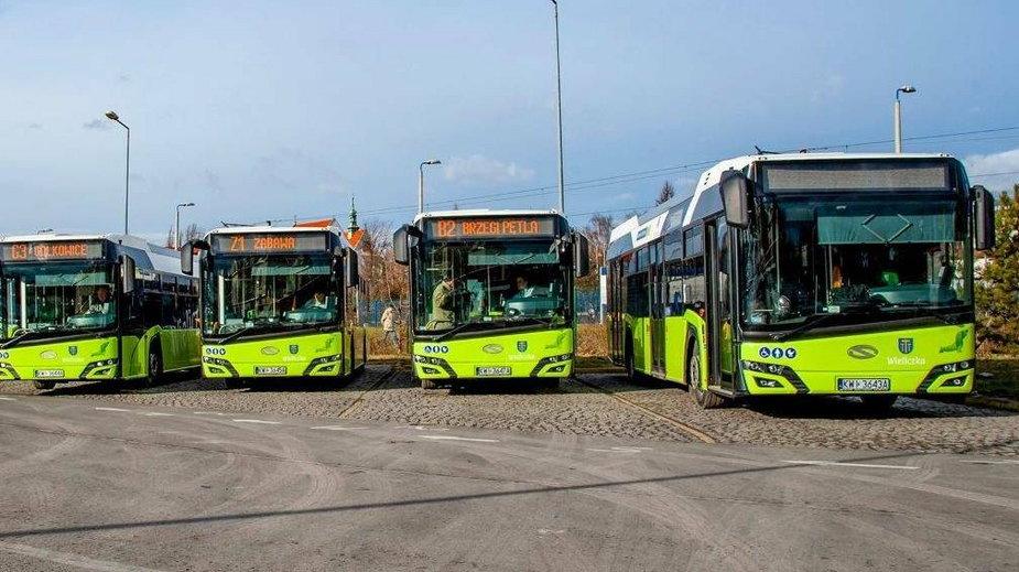 Eko-linie autobusowe w Wieliczce