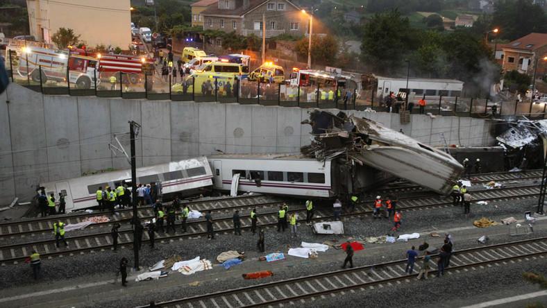 Maszynista złoży zeznania. Po katastrofie kolejowej w Hiszpanii