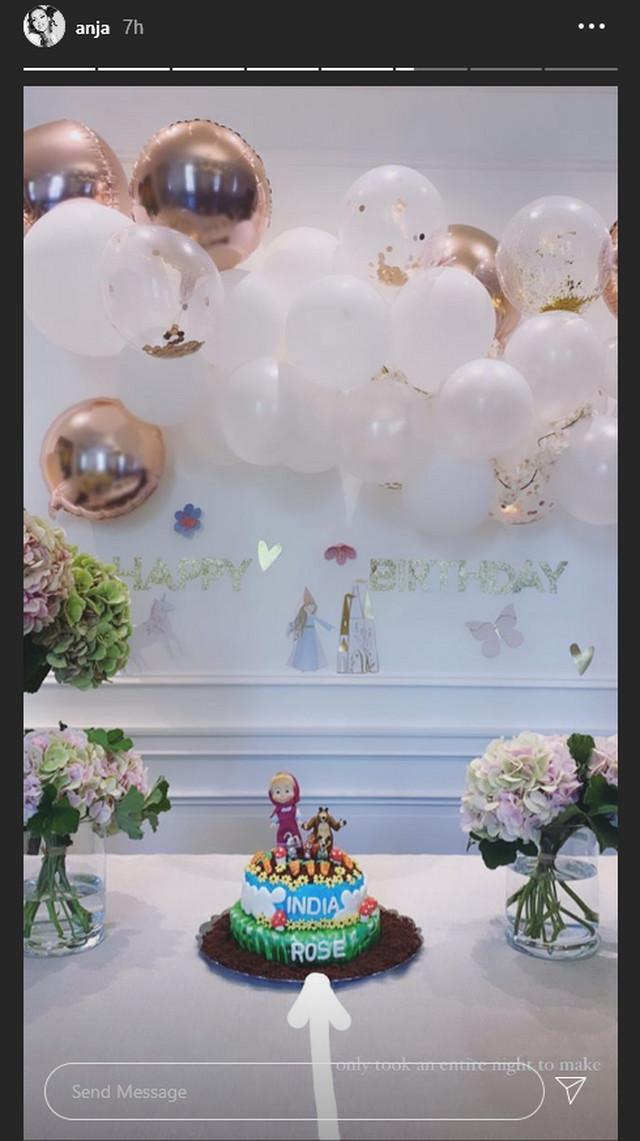 Anja Valente pokazala kako ćerki slavi rođendan
