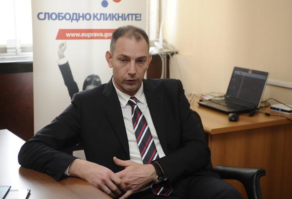 Dušan Stojanović direktor Direkcije za elektronsku upravu