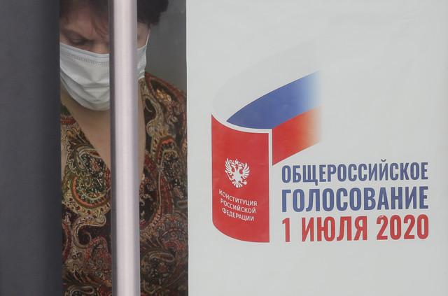 Pripreme za glasanje o ustavnim amandmanima u Moskvi