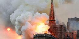 Pożar katedry Notre Dame. Tak płonie zabytek