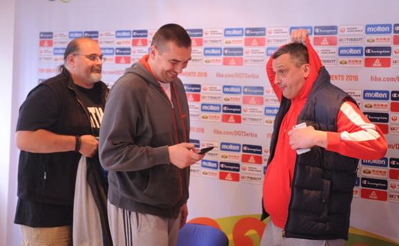 Aleksandar Džikić, Dejan Milojević i Dejan Radonjić, stratezi Partizana, Mega Leksa i Zvezde