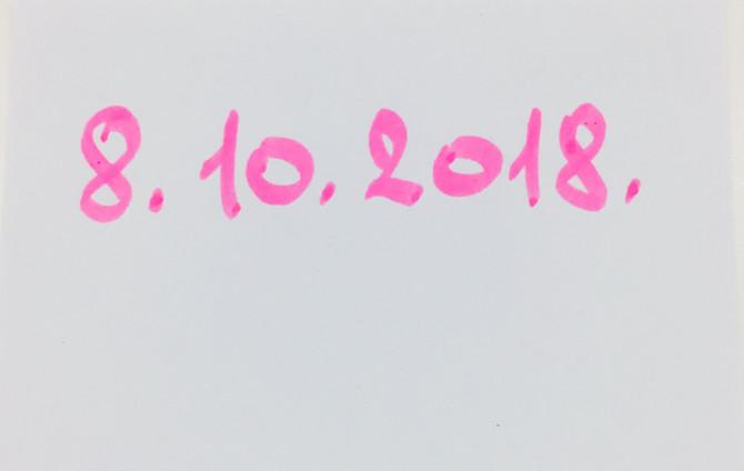 Današnji datum je jednistven