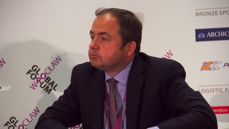 Wiceszef MSZ Konrad Szymański