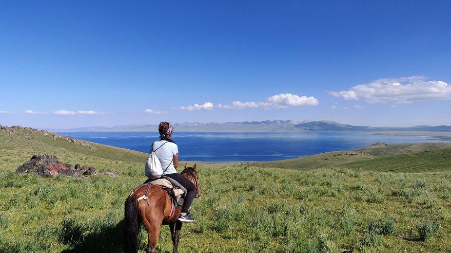 Jazda konna w Kirgistanie
