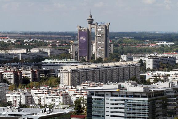Najviše visokih zgrada na Novom Beogradu