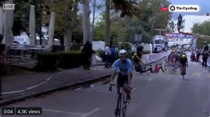 Biciklizam sudar