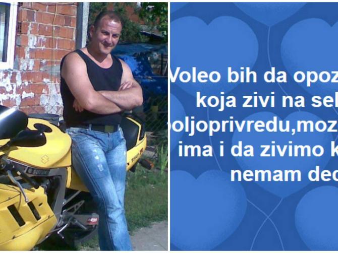 Dragan GODINAMA preko Fejsbuka OVAKVIM STATUSIMA traži ženu: A iza teksta koji je svima urnebesan krije se TUŽNA REALNOST SRPSKOG SELA