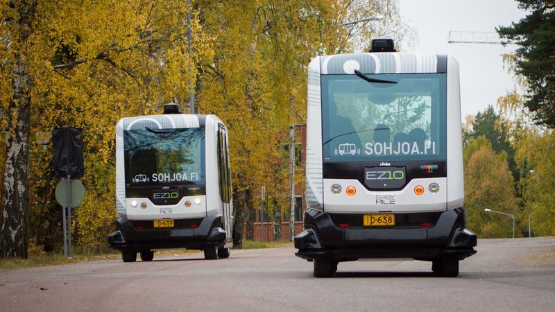 Automatyczne autobusy w Helsinkach