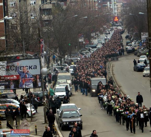 Ispraćaj u Kosovskoj Mitrovici