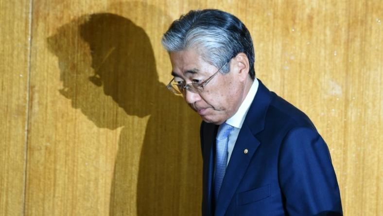 Japanese Olympic Committee head Tsunekazu Takeda says his decision to step down has 'nothing to do with the investigation'