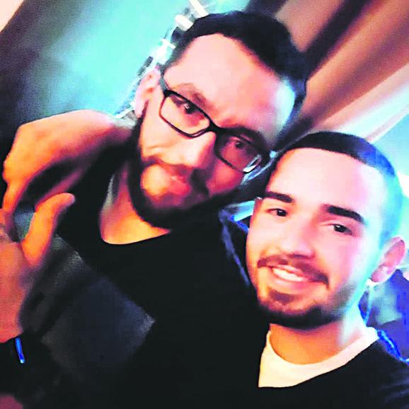 Stefan sa bratom Draganom Kerkezom