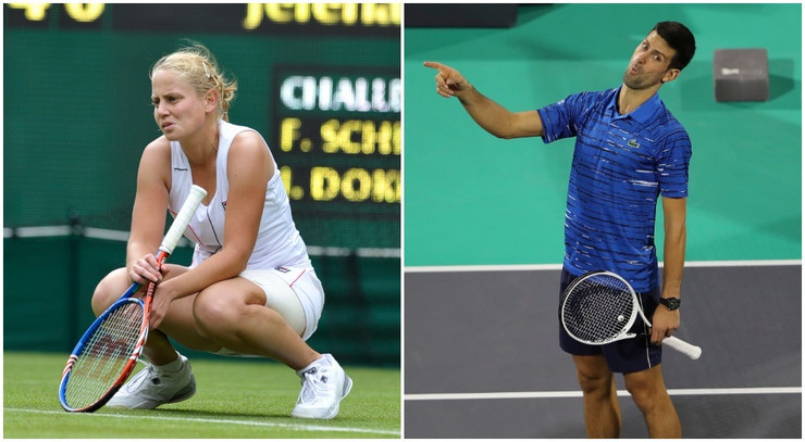 Jelena Dokić i Novak Đoković