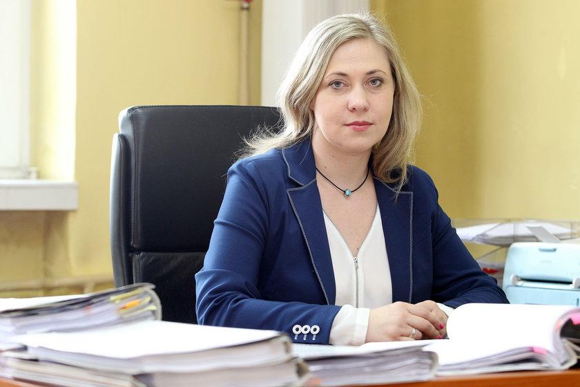 Joanna Smorczewska, rzecznik Prokuratury Okręgowej w Gliwicach
