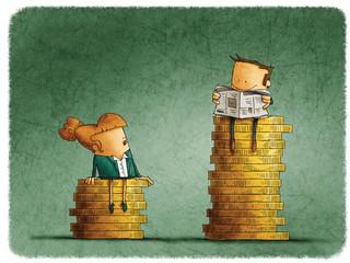 Dlaczego kobietom płaci się mniej? Mózgi pracodawców nie różnią się od mózgów reszty społeczeństwa. Są pełne stereotypów i leniwe
