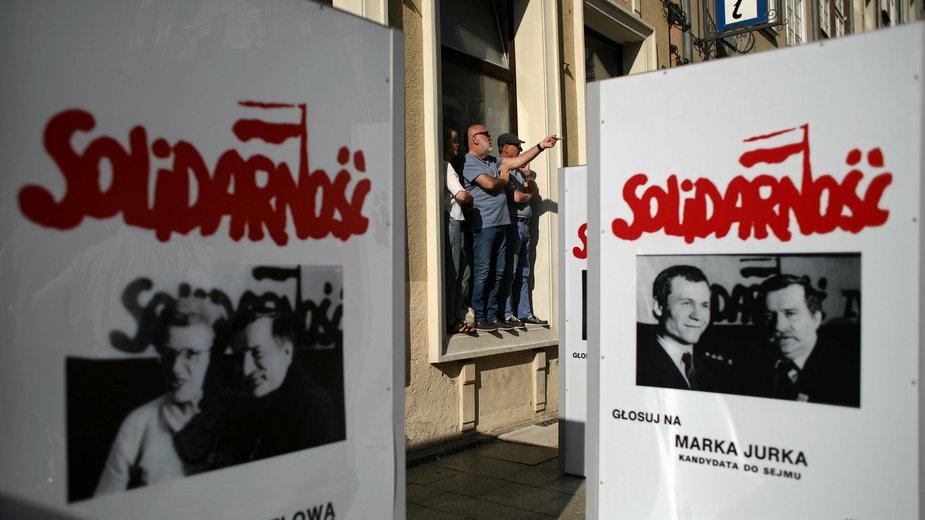 Gdańsk podczas obchodów 30. rocznicy wyborów czerwcowych