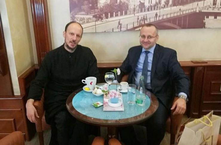 Vladika Dimitrije i muftija Dedović