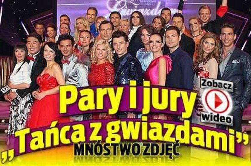 """Pary i jury """"Tańca z gwiazdami"""". FILM/FOTO"""