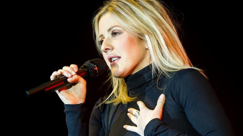 Ellie Goulding na koncercie w Warszawie