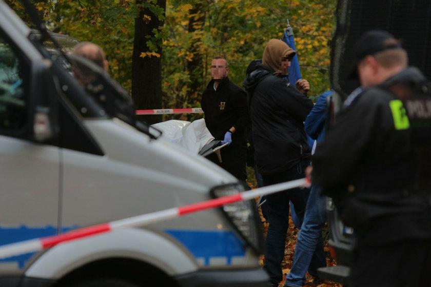 Zwłoki znalezione na Kosynierów Gdyńskich w Łodzi