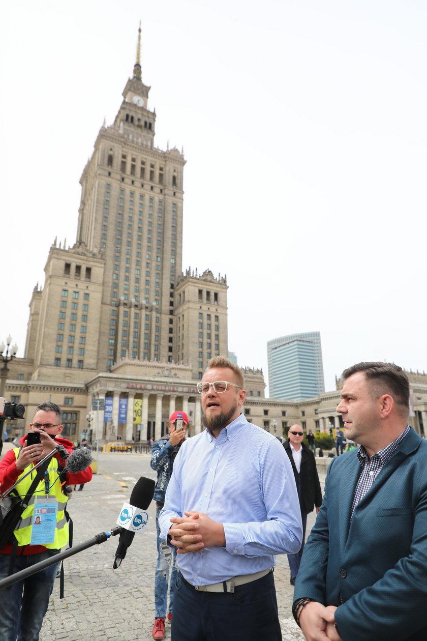 Kandydat na prezydenta Paweł Tanajno