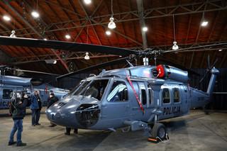 Dwa śmigłowce Black Hawk przekazane policji