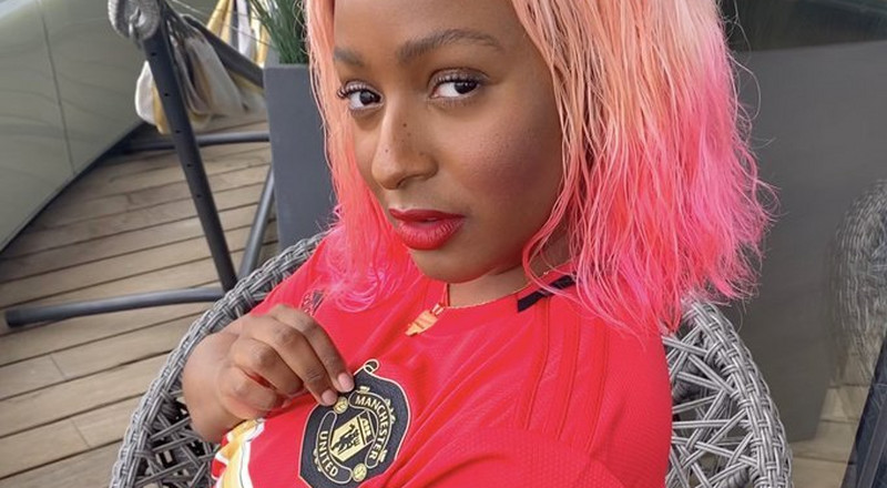 Nigerian footballer Odion Ighalo sends signed Manchester United jerseys to musician DJ Cuppy