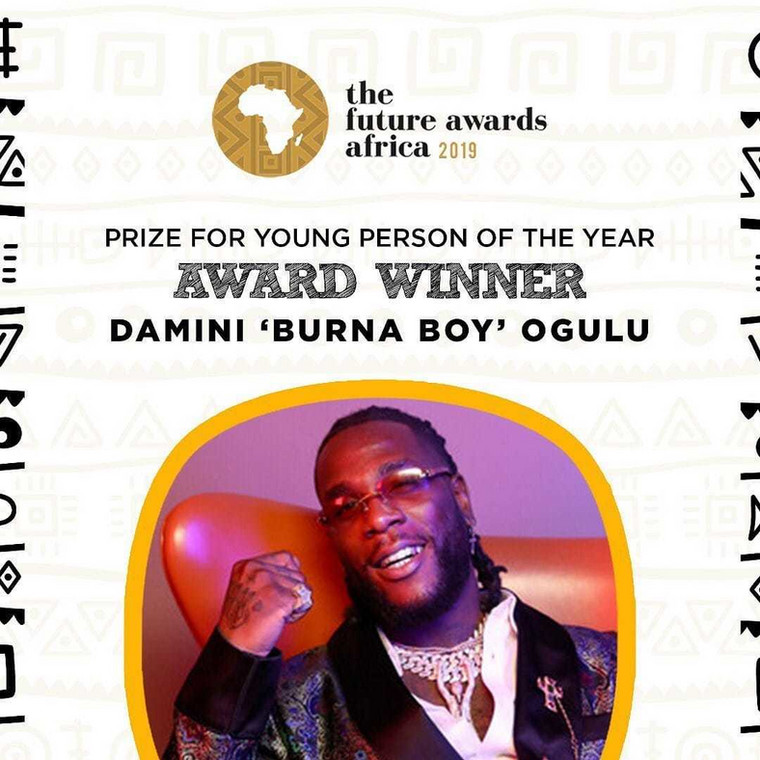 Young Person Of the year (Burna Boy)