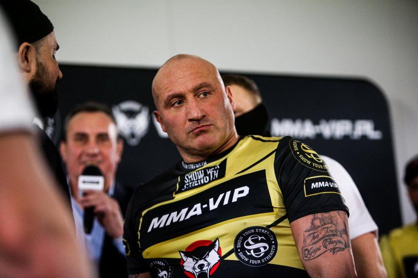 Marcin Najman na wa?enu MMA VIP