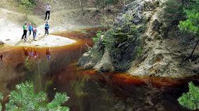 Kolorowe Jeziorka w Rudawach Janowickich - wybryk natury