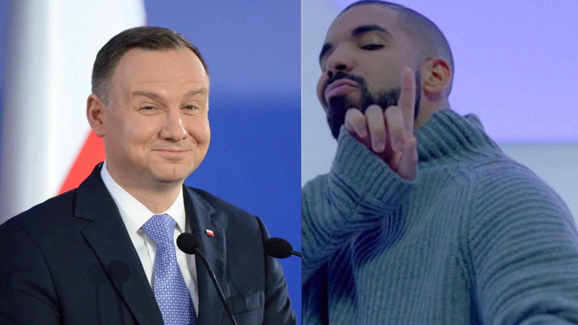 Andrzej Duda i Drake. Zobacz najlepsze memy - Noizz