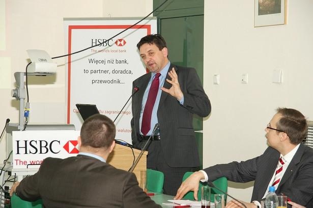 Dariusz Szymański z departamentu bankowości transakcyjnej HSBC Bank Polska S.A.