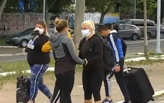 Porodica ih dočekala u Beogradu