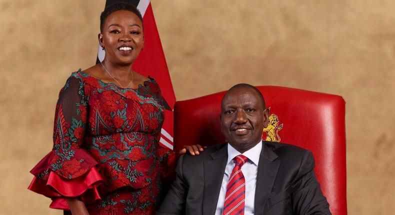 DP William Ruto with his wife Rachel Ruto